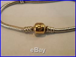 pandora bracelet 14k gold clasp