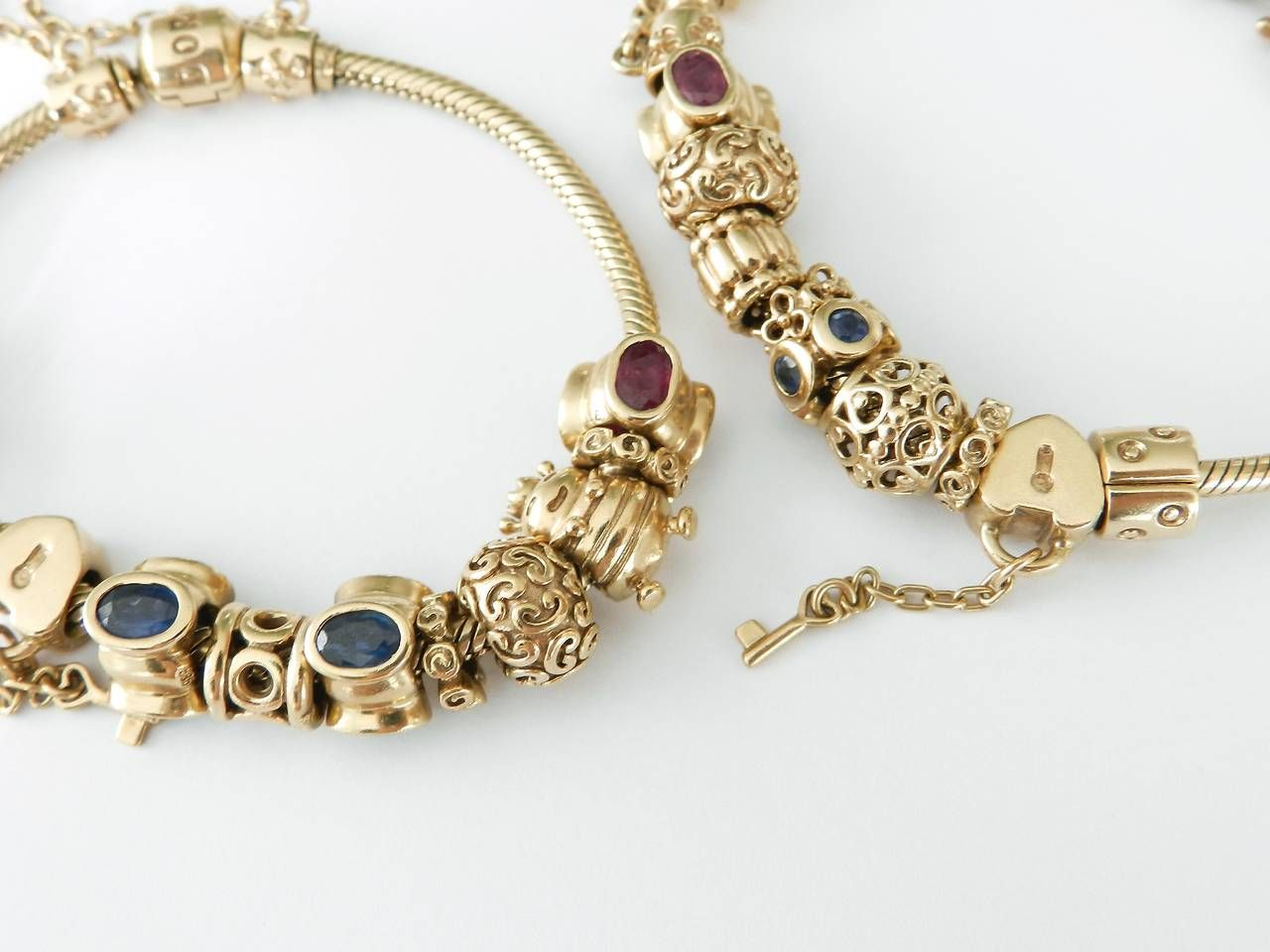 pandora bracelet 14k
