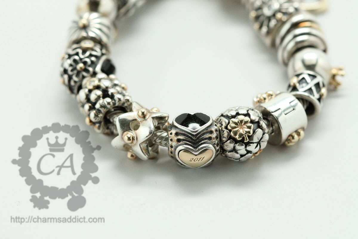 Ebay Pandora Bracelet 2017 Dc9ab 7124b France Two Tone