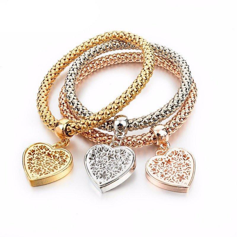 pandora bracelet 3 pcs