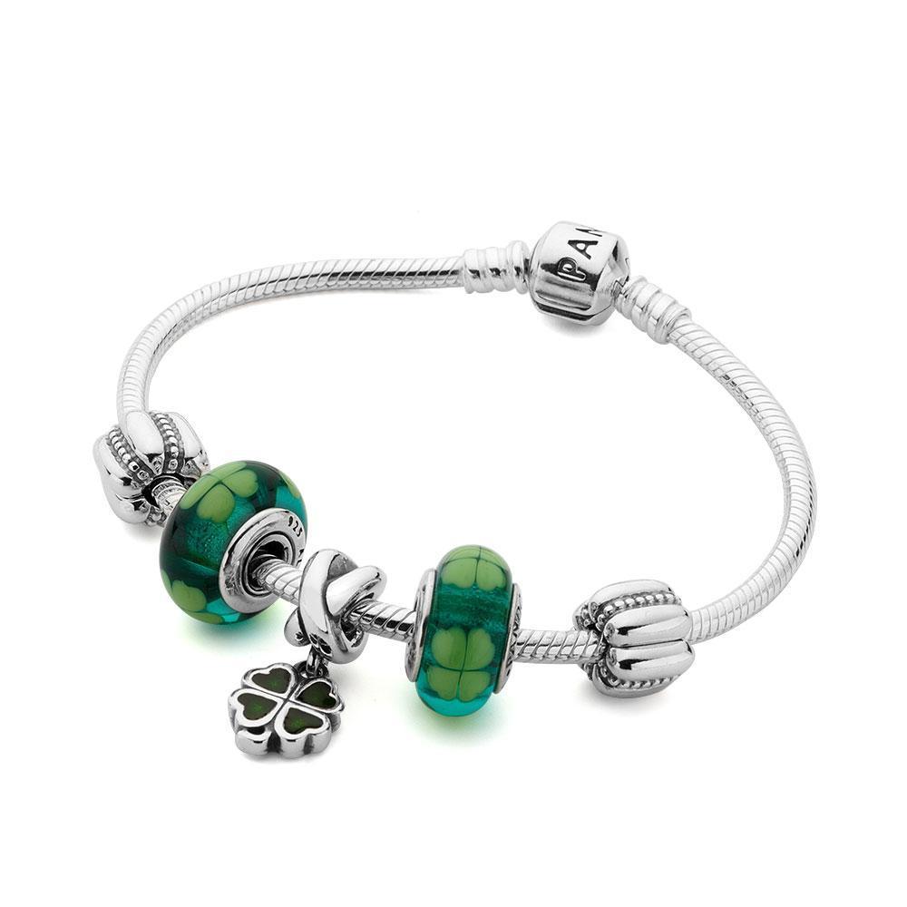 pandora bracelet 5 charms