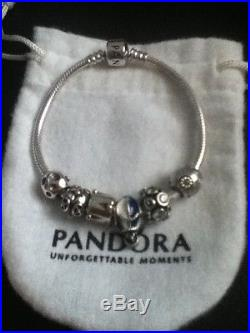 pandora bracelet 6 charms