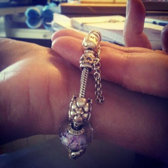 pandora bracelet 7 inch
