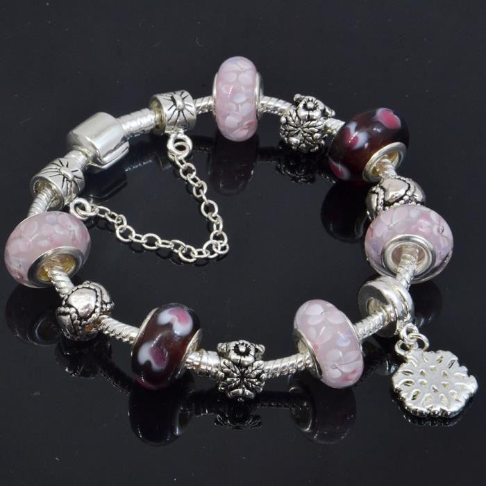 pandora bracelet 8 charms