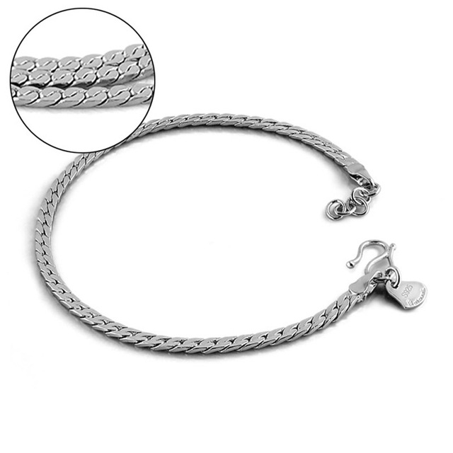 pandora bracelet 925 sterling silver 19cm