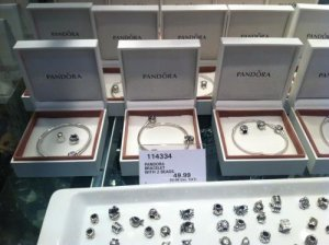 pandora bracelet at costco