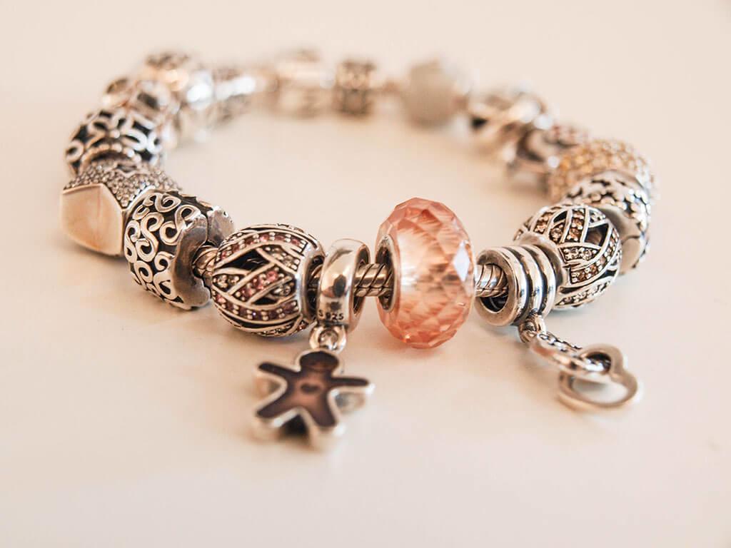 pandora bracelet blanc