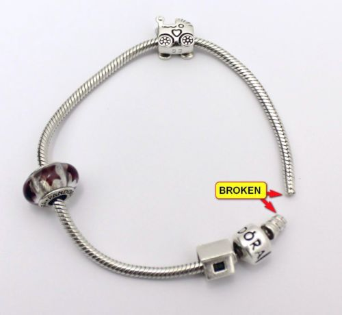pandora rope bracelet broke