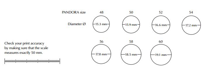 46c045a6c pandora bracelet diameter