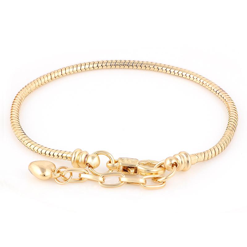 pandora bracelet gold price
