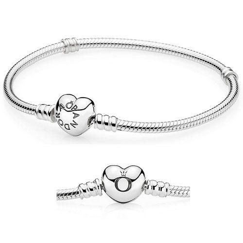 pandora bracelet heart