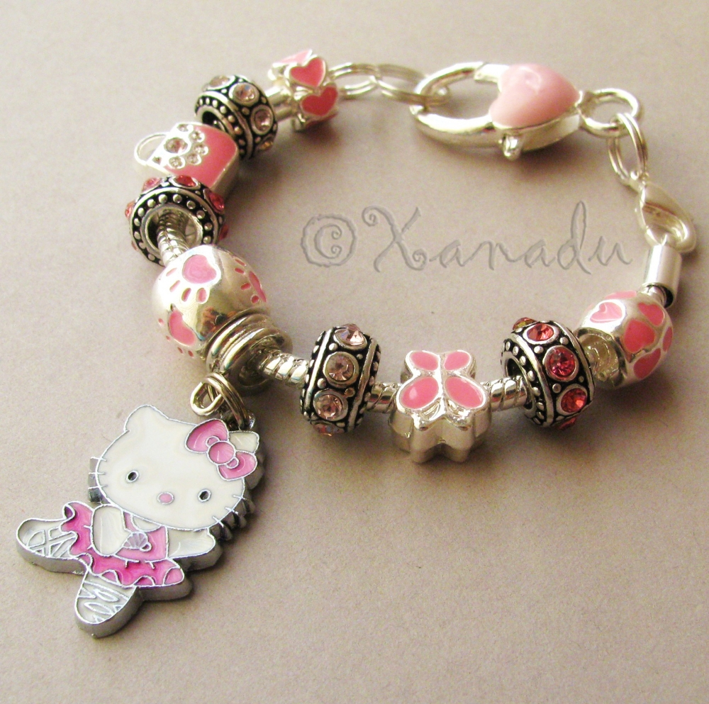 pandora bracelet hello kitty