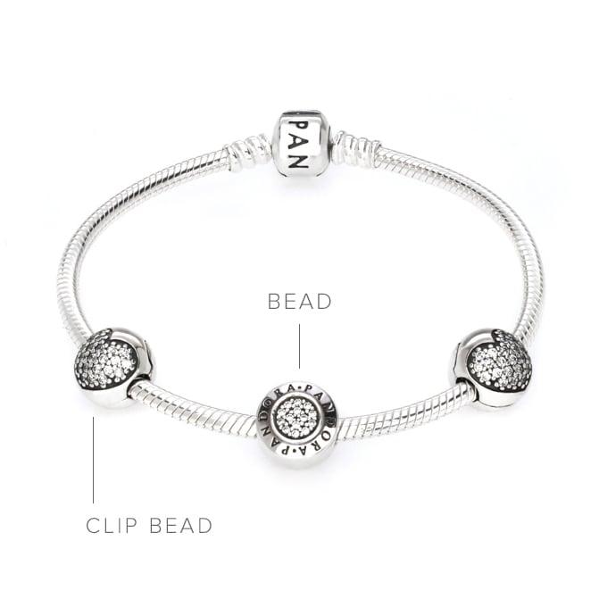 pandora bracelet clip broken