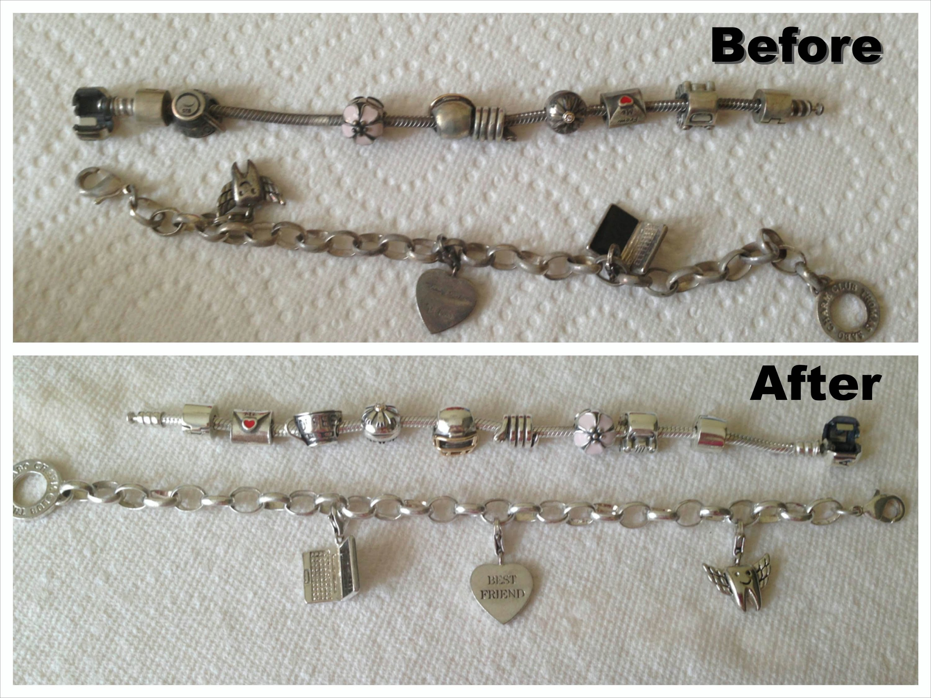 How to clean a silver chain at home