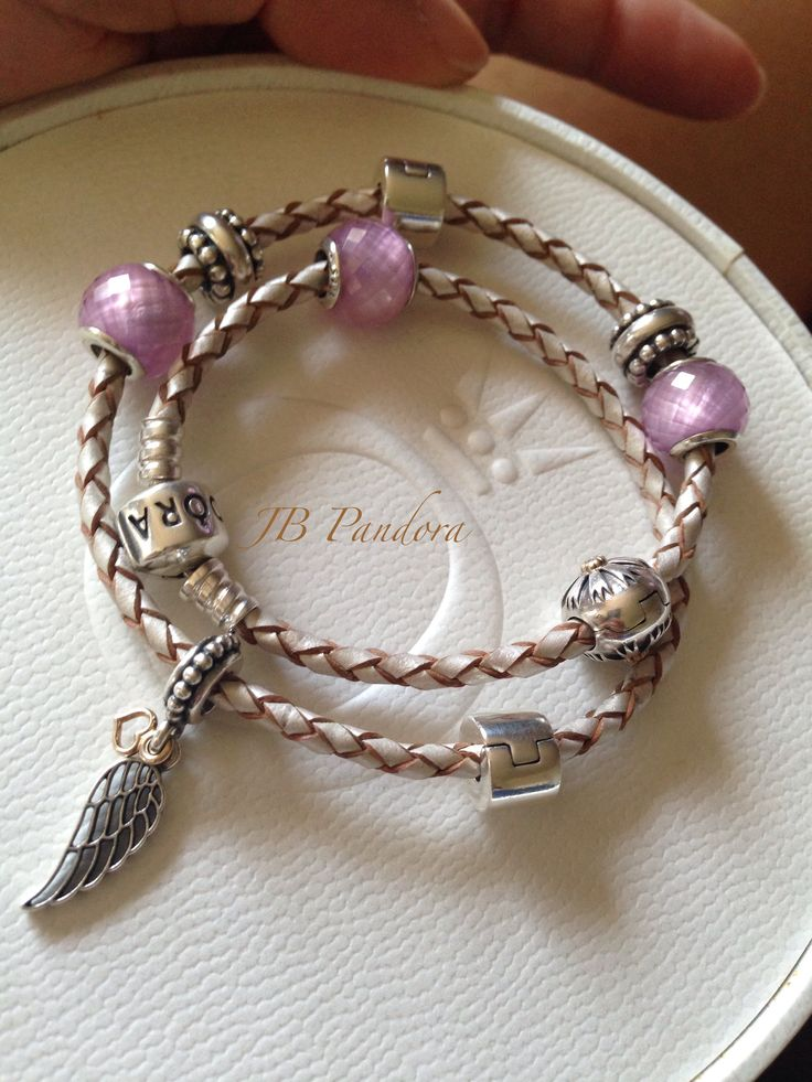 00a21143e1d17 pandora bracelet ideas leather