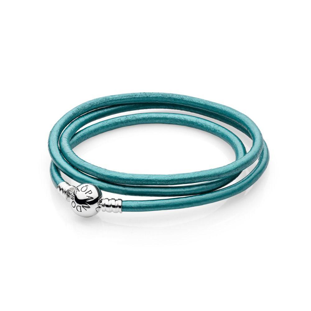 pandora bracelet leather sale