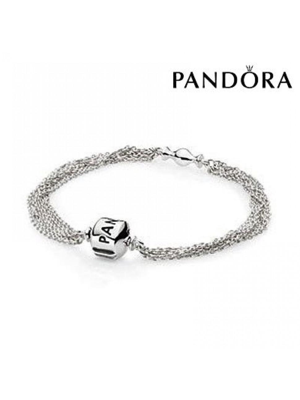 Multi Pandora Pandora Multi Bracelet Bracelet Chaine Chaine tsQdhCr