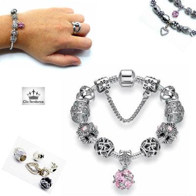 bracelet pandora breloque