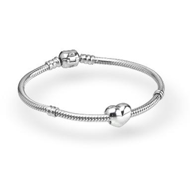 pandora bracelet t h baker