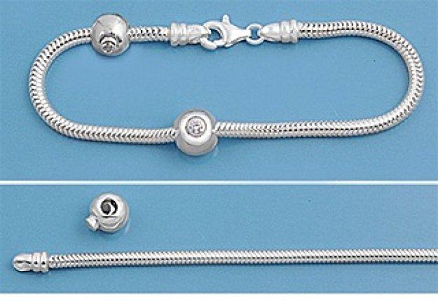 pandora bracelet thickness