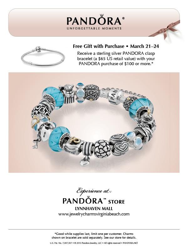 pandora bracelet virginia beach