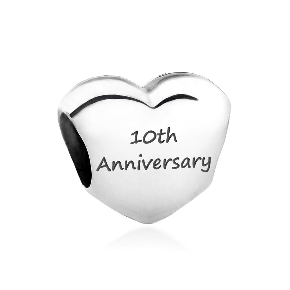 pandora charms 10 year anniversary
