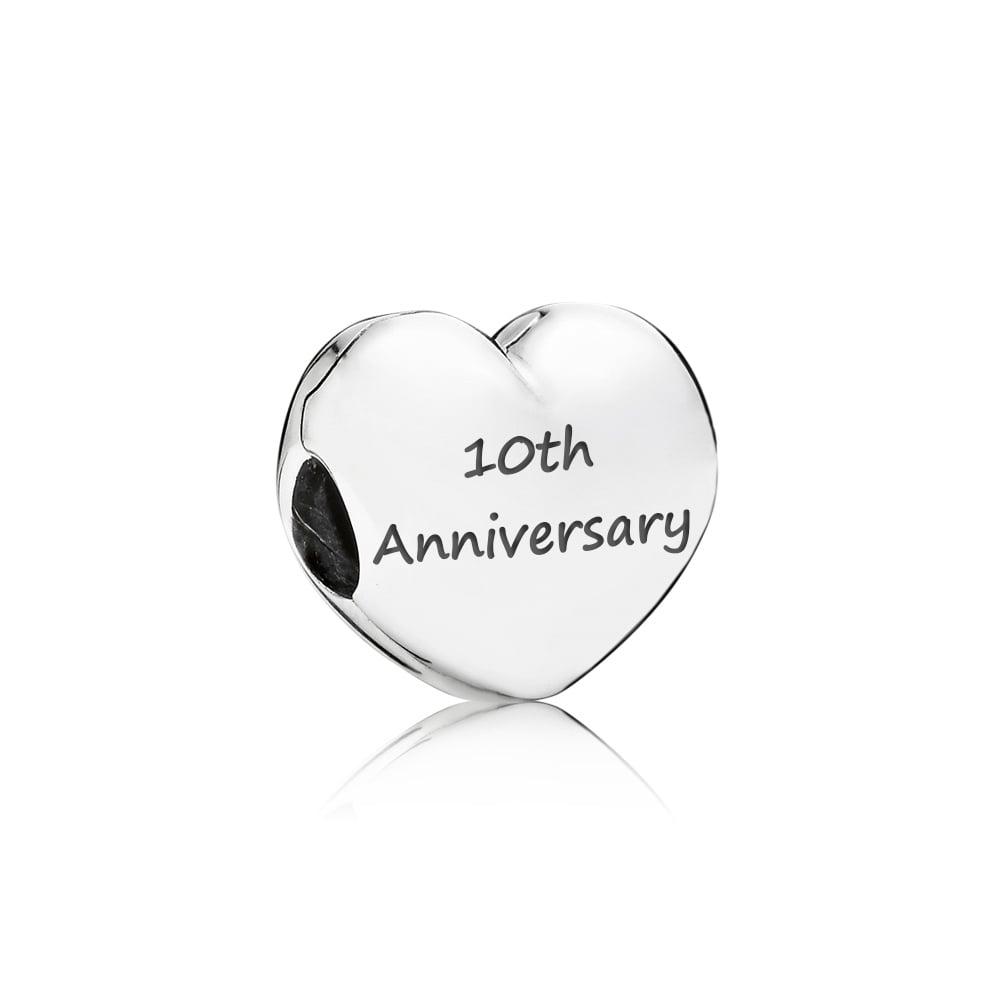 pandora charms 10th anniversary