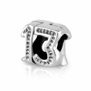 pandora charms 13th birthday