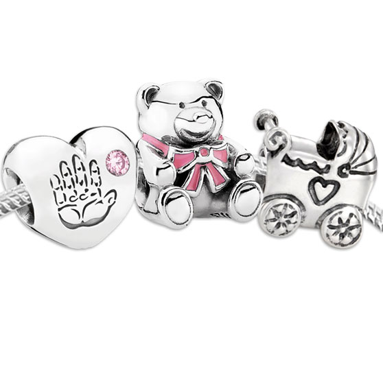 pandora charms 1st birthday