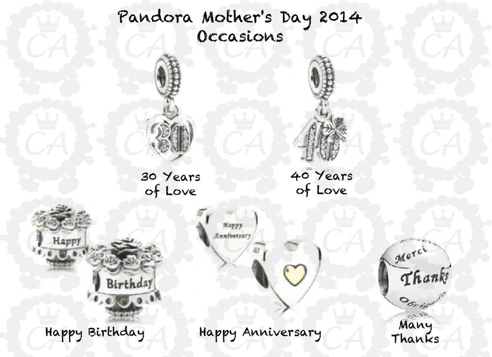 pandora charms 20 year anniversary