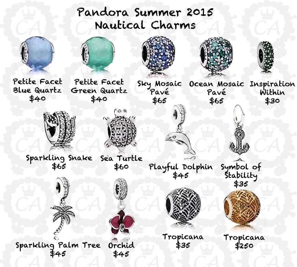 pandora turtle charm 2015