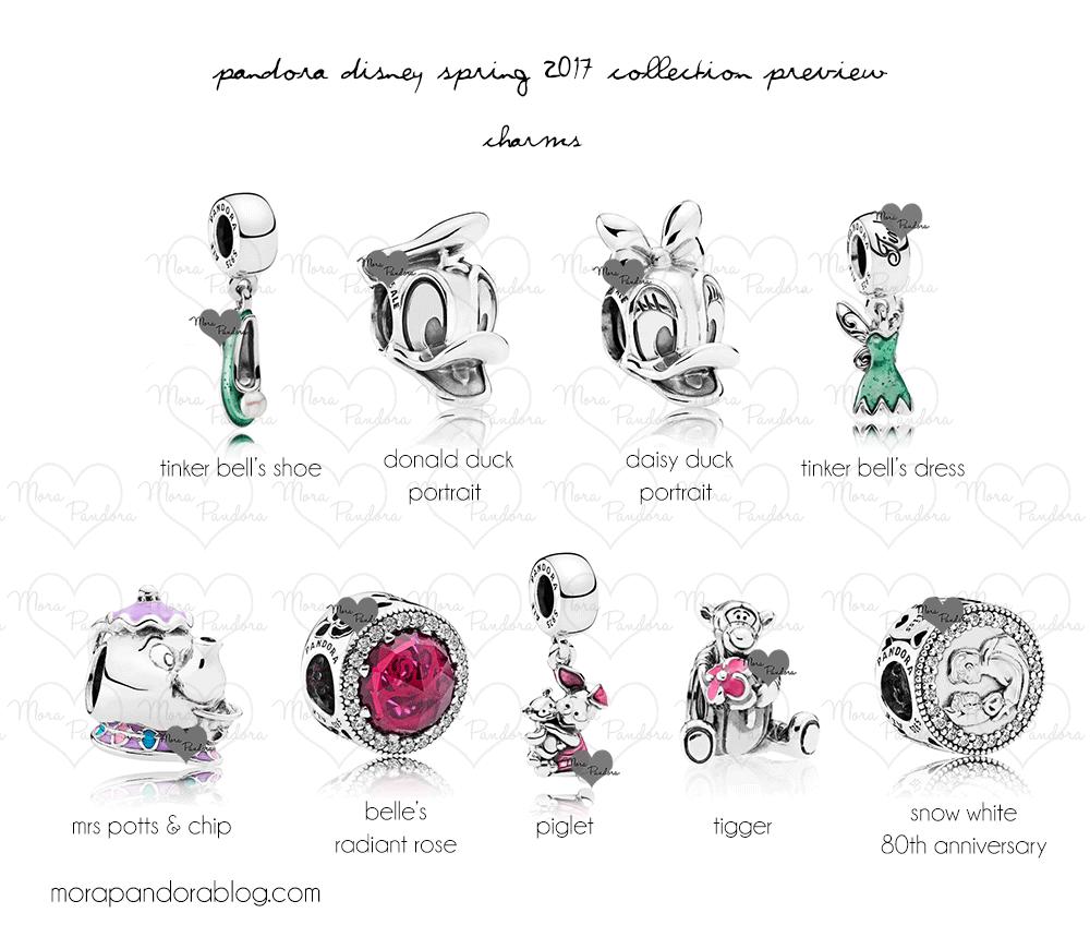 pandora charms 2017