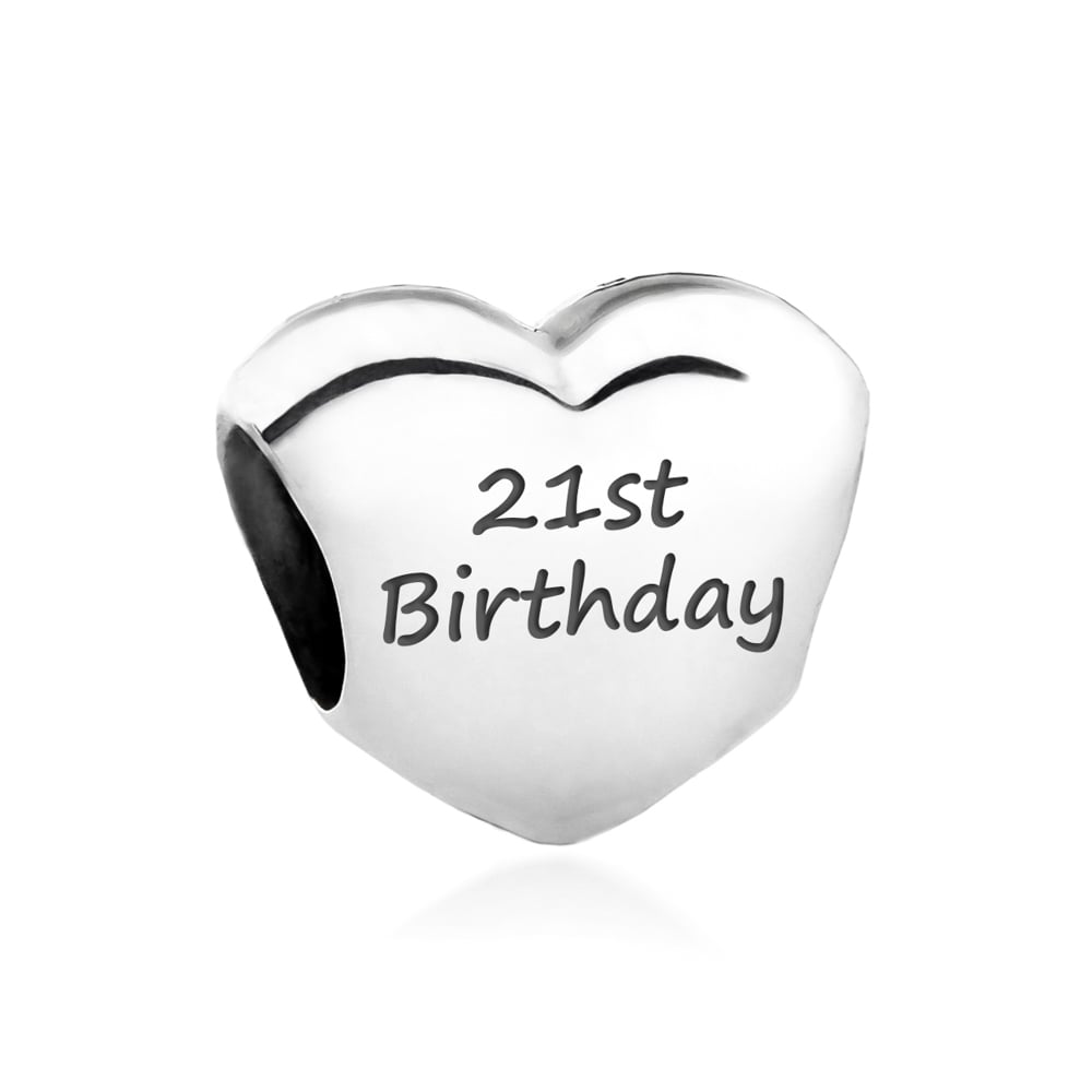 pandora charms 21st birthday