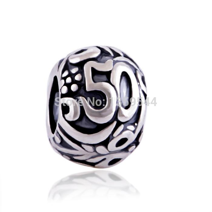 pandora charms 50 birthday