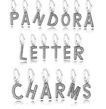 pandora charms alphabet