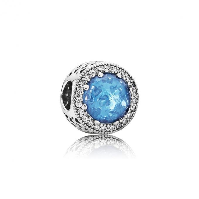 pandora charms bleu