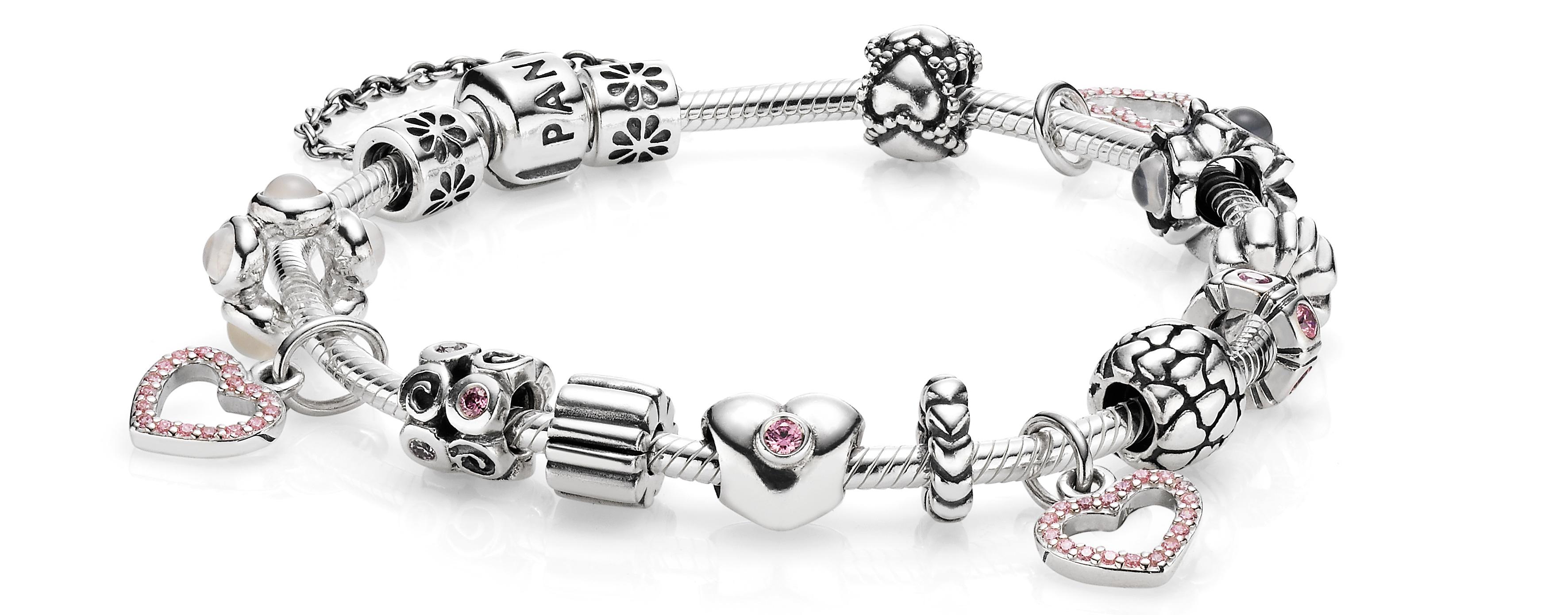 bracelet pandora et charms