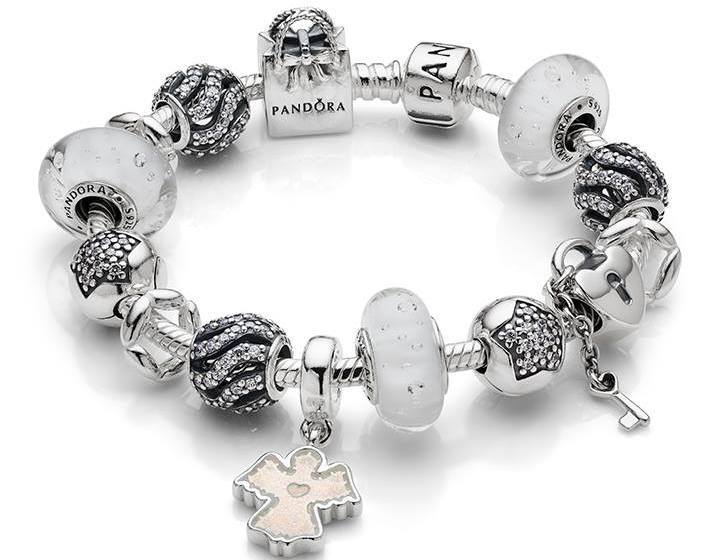 pandora charms couleur