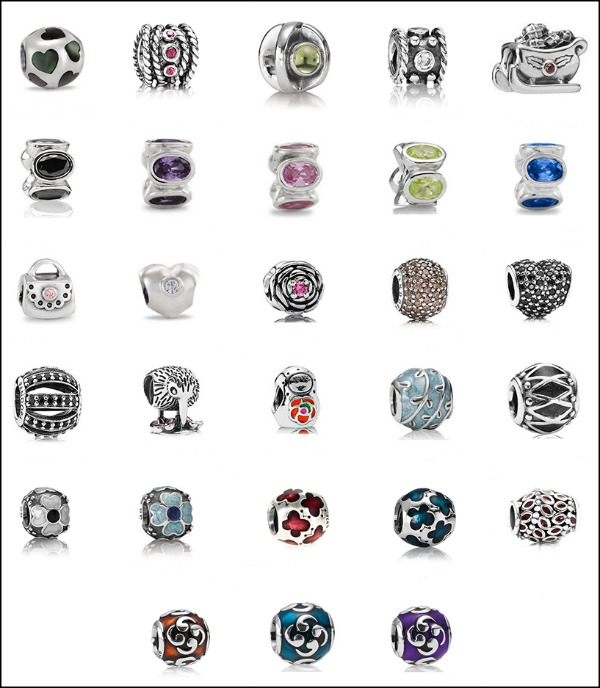 pandora charms discontinued