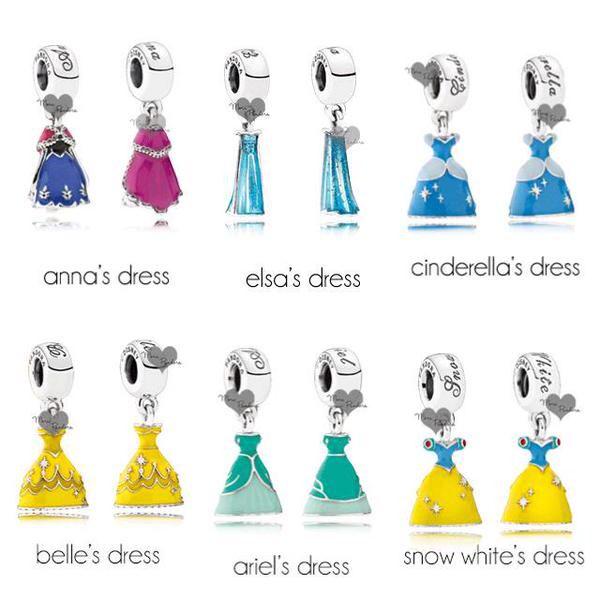 pandora robe princesse