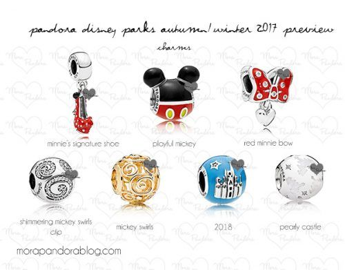pandora charms disneyland paris