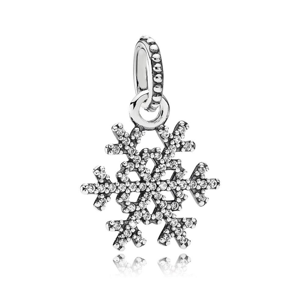 pandora charms flocon de neige