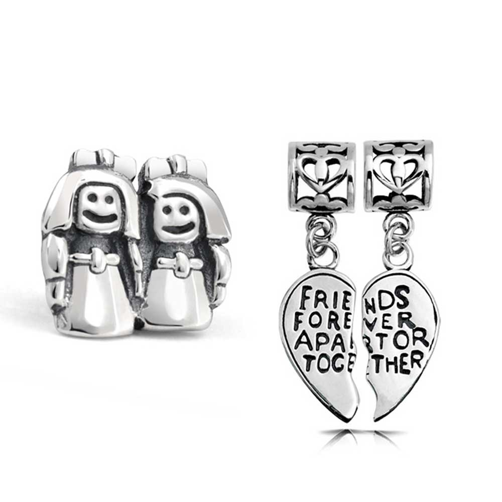 pandora charms for best friends