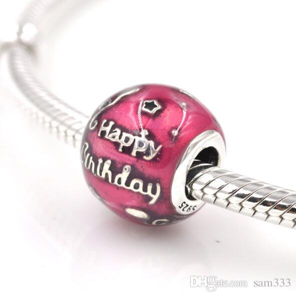 pandora charms happy birthday