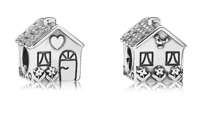 pandora charms house