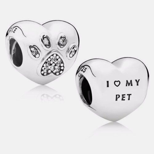 pandora charms i love my pet