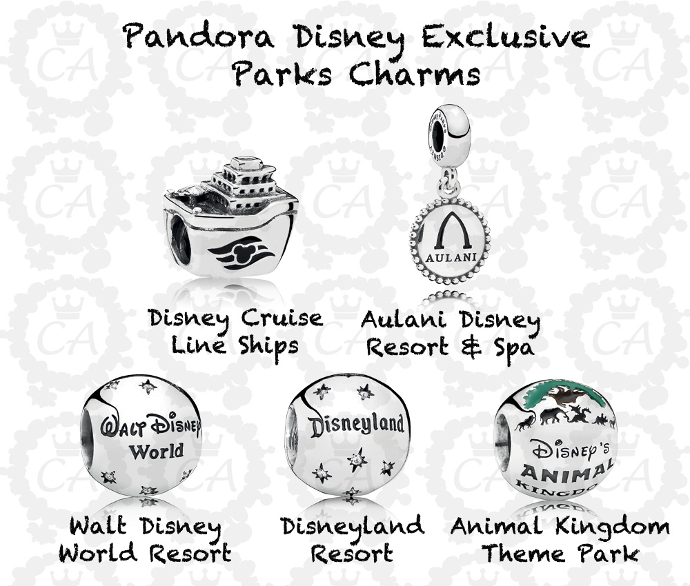 pandora charms in disney world