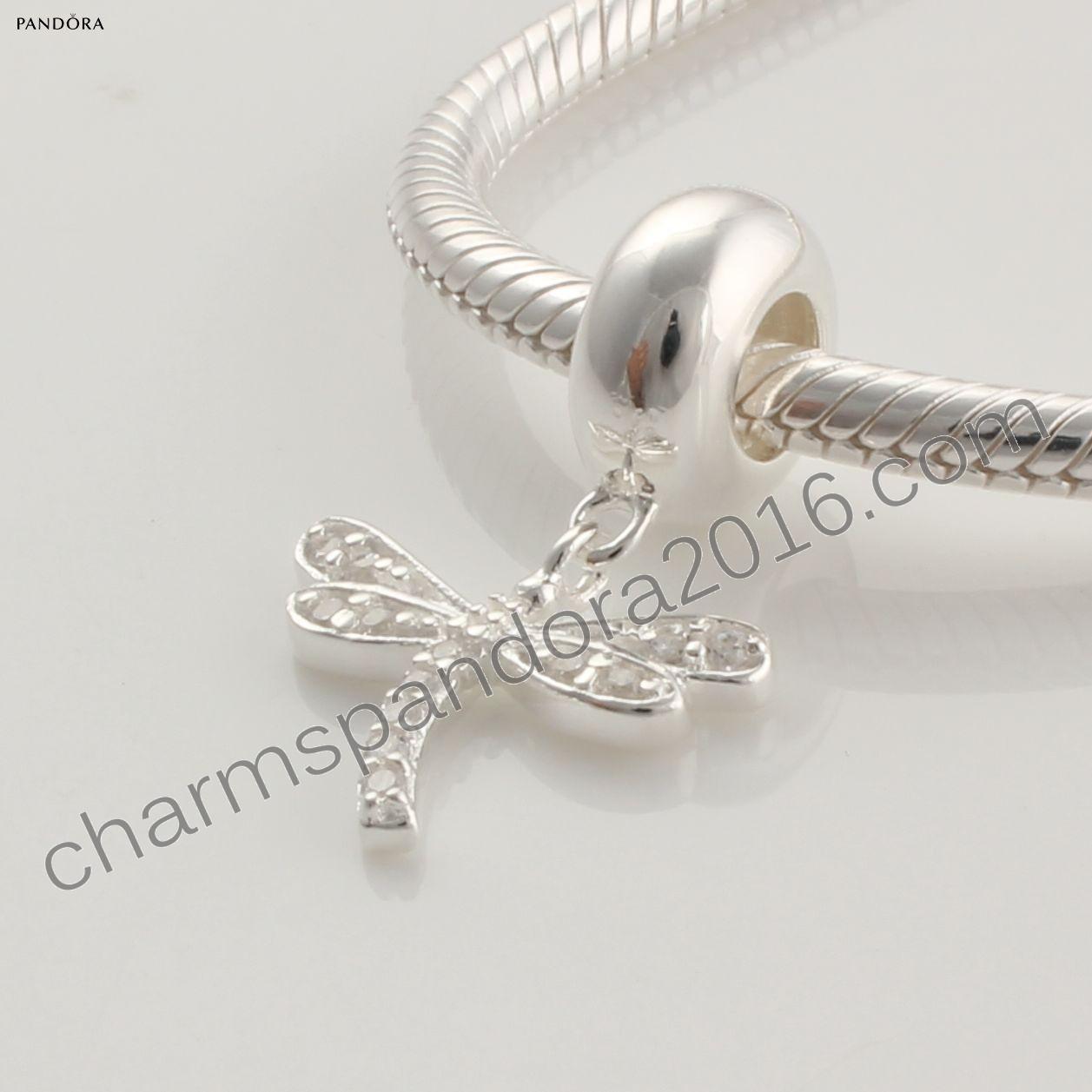 pandora charms libellule