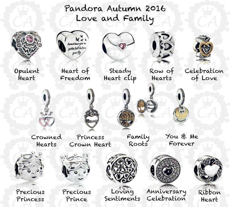 pandora charms mamie