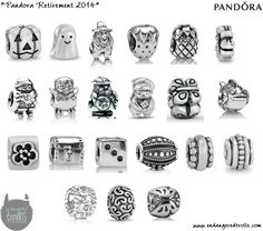 pandora charms retired